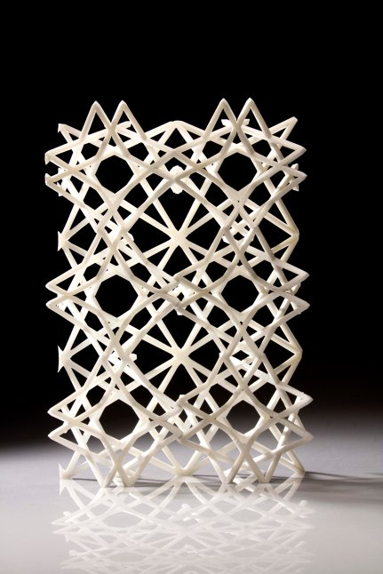 Parametric Mashrabiya screen. Photo: Nehal Almurbati