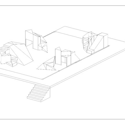 Cale_Sketchup_Axonometric