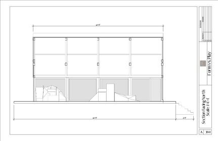 Cale_Sketchup_Long Section